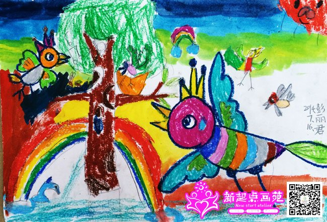 自由飞翔-儿童画初级班2014年7月16日(7)