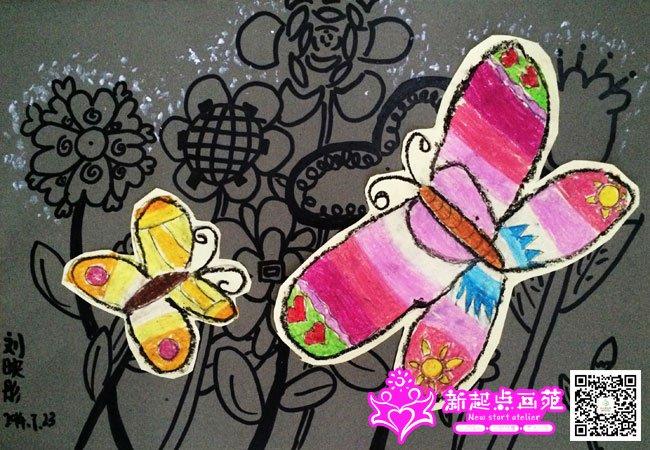 剪贴画-儿童画初级班2014年7月23日