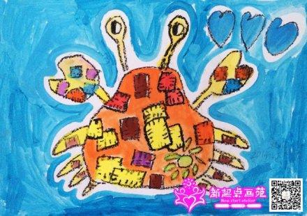 动物乐园-儿童画提高班2014年8月16日
