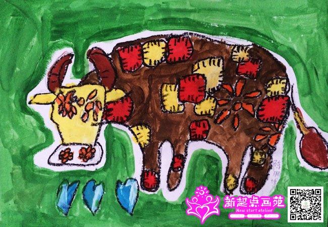 动物乐园-儿童画提高班2014年8月16日(11)