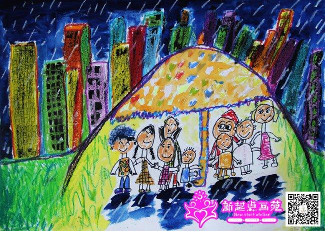 最后更新:2014-10-11 吹朔纸版画长颈鹿-儿童画提高班2014年9月24,27