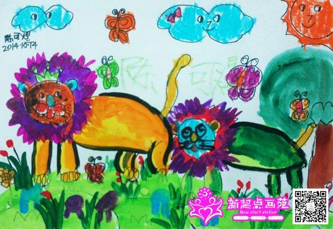 学生作品 儿童画作品