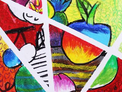 主页 学生作品 儿童画作品  点线面绘画-儿童画提高班-2015年3月14日