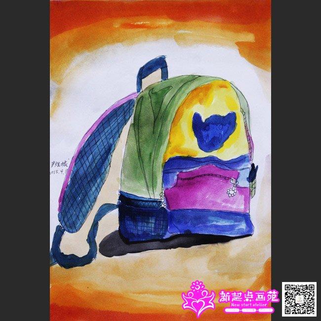 主页 学生作品 儿童画作品  郑明宇(画)-静物写生画作品