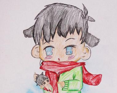 动漫画作业-2015年7月18日学生作品-新起点画苑